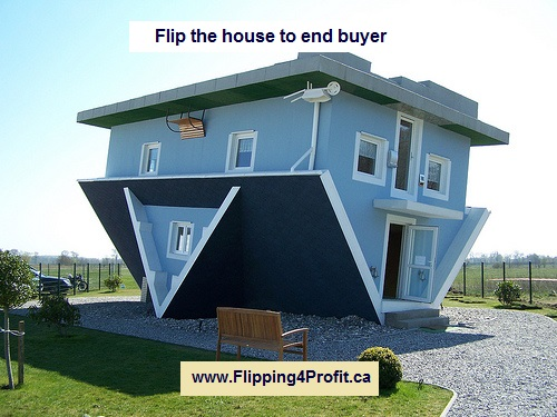 Flip the house to end buyer