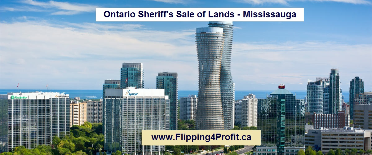 Ontario Sheriff's Sale of Lands - Mississauga