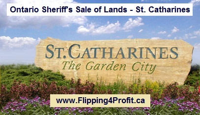 June 07, 2016 - Ontario Sheriff's Sale of Lands - St. Catharines