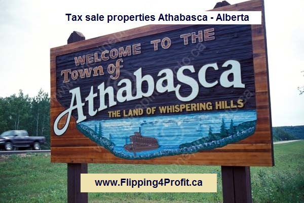 Tax sale properties Athabasca - Alberta