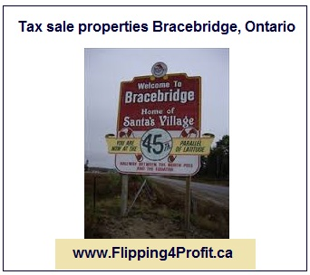 Tax sale propreties Bracebridge - Ontario