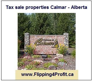 Tax sale properties Calmar - Alberta
