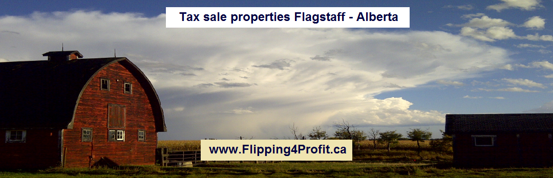 Tax sale properties Flagstaff - Alberta