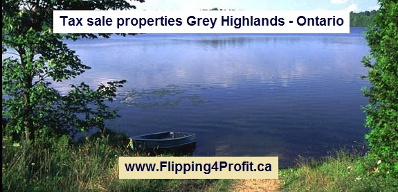 Tax sale properties Grey Highlands - Ontario