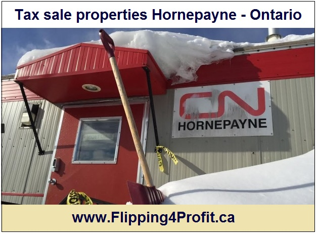 Tax sale properties Hornepayne - Ontario