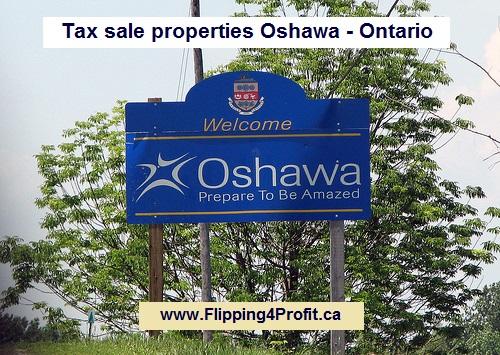 Tax sale properties Oshawa - Ontario