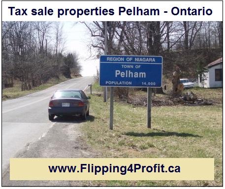 Tax sale properties Pelham - Ontario