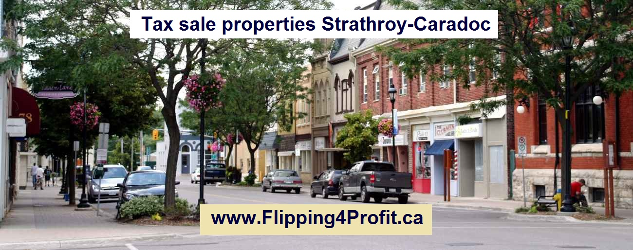 Tax sale properties Strathroy