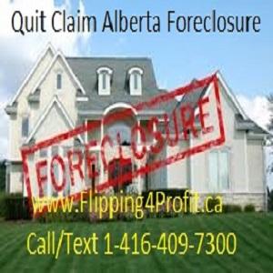Quit Claim Alberta Foreclosure