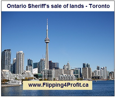 Ontario Sheriff's sale of lands - Toronto