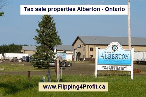 Tax sale properties Alberton - Ontario