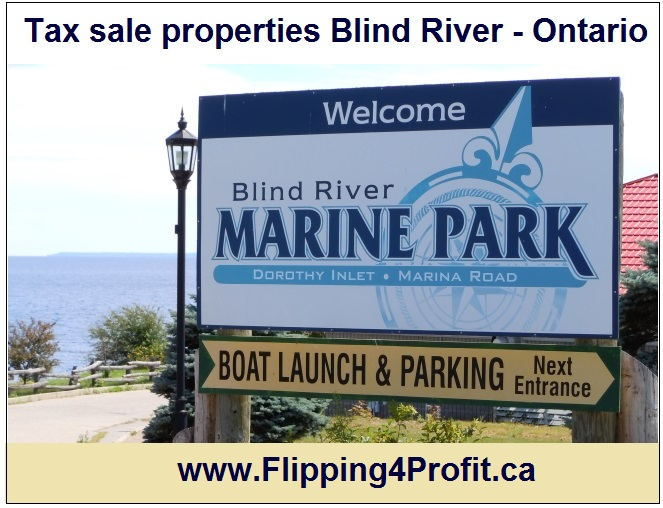 Tax sale properties Blind River - Ontario