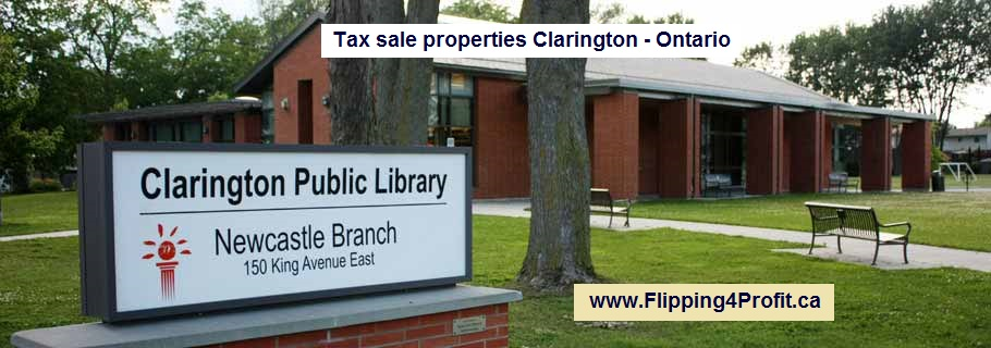 Tax sale properties Clarington - Ontario