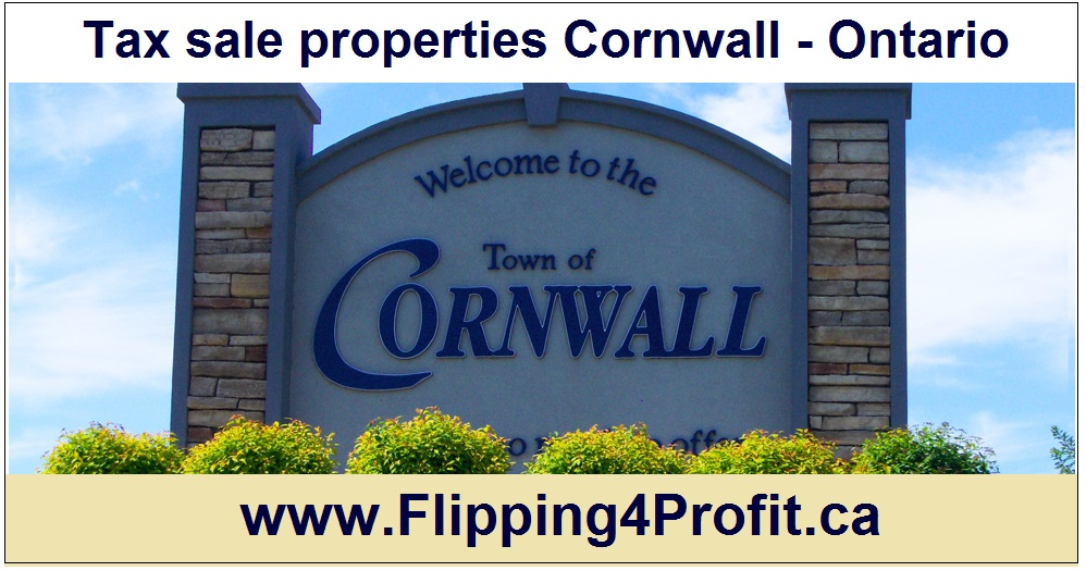 Tax sale properties Cornwall - Ontario