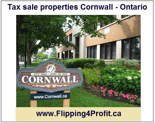 June 6, 2016 Tax sale properties Cornwall - Ontario