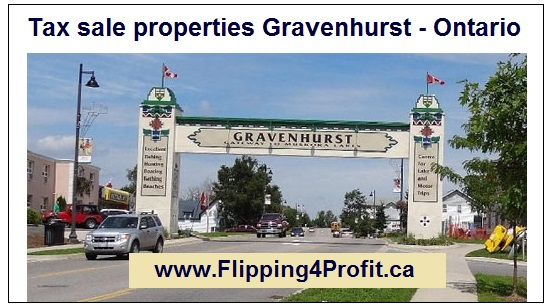 Tax sale properties Gravenhurst - Ontario