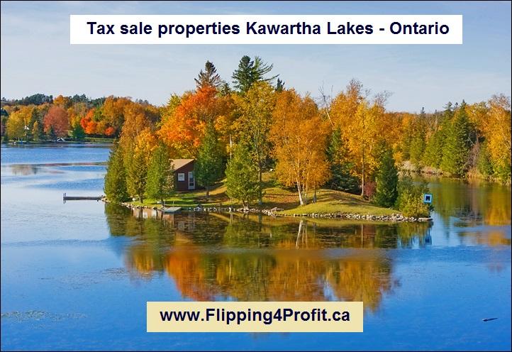 Tax sale properties Kawartha Lakes - Ontario