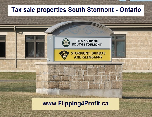 Tax sale properties South Stormont - Ontario