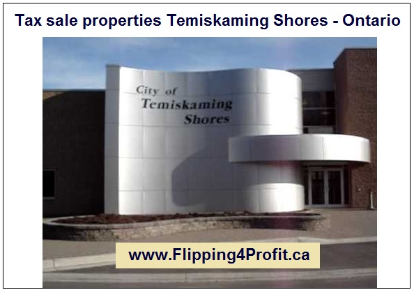 Tax sale properties Temiskaming Shores - Ontario