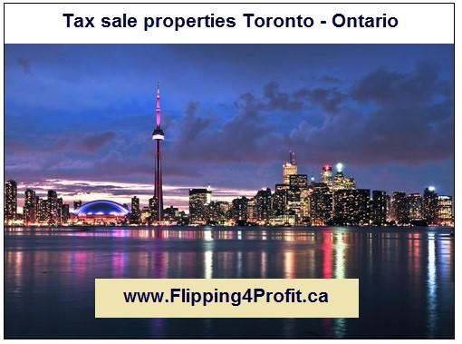 Tax sale properties Toronto - Ontario
