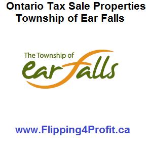 Tax sale properties Ear Falls - Ontario
