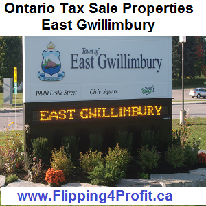 Tax sale properties East Gwillimbury - Ontario