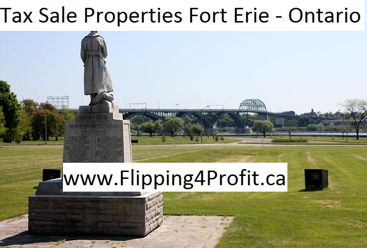 Tax sale properties Fort Erie - Ontario