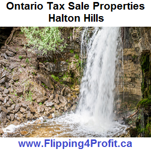 Tax sale properties Halton Hills - Ontario