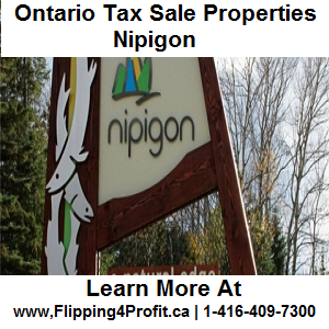 Tax sale properties Nipigon - Ontario