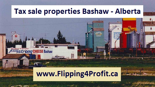 Tax sale properties Bashaw - Alberta