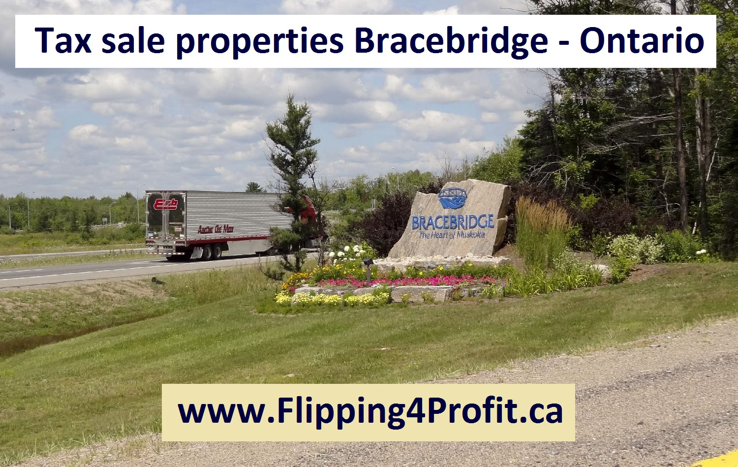 July 28, 2016 Tax sale properties Bracebridge - Ontario