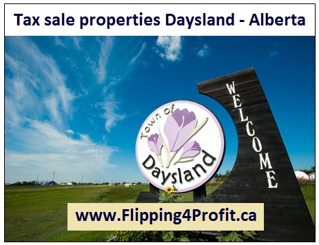 Tax sale properties Daysland - Alberta