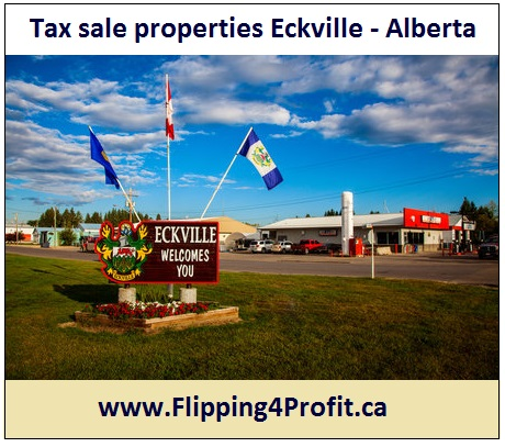 Tax sale properties Eckville - Alberta