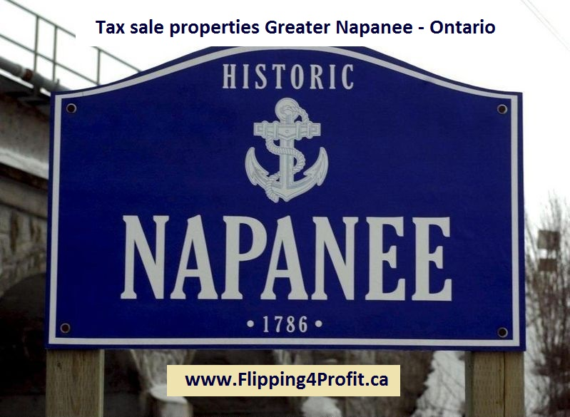 Tax sale properties Greater Napanee - Ontario
