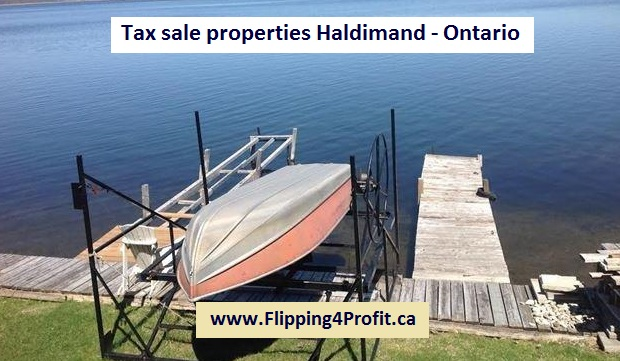 Tax sale properties Haldimand - Ontario