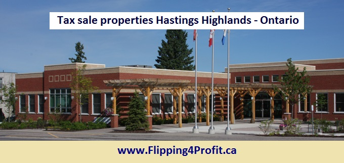 Tax sale properties Hastings Highlands - Ontario