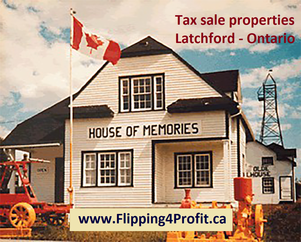 Tax sale properties Latchford - Ontario