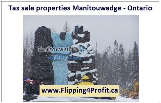 Tax sale properties Manitouwadge - Ontario