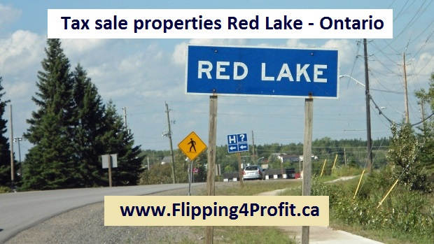 Tax sale properties Red Lake - Ontario