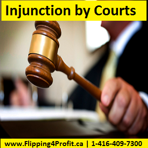 Injunction by Courts