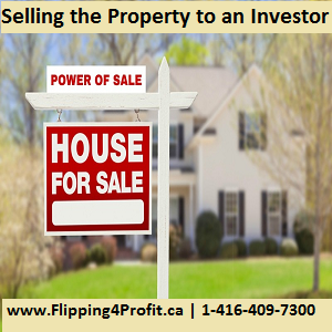 Selling the Property to an Investor