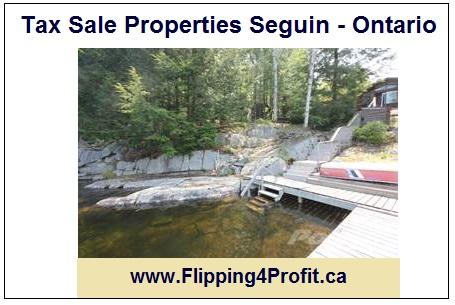 19 Sept 2016 Tax sale properties Seguin - Ontario