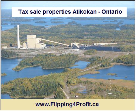 Tax sale properties Atikokan - Ontario