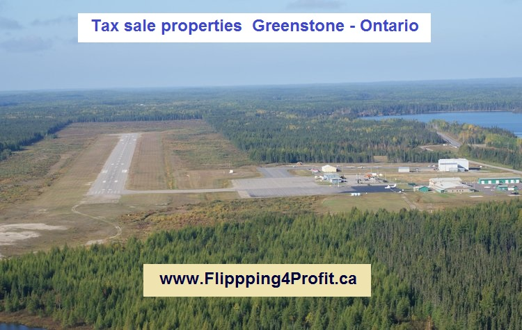 Tax sale properties Greenstone - Ontario