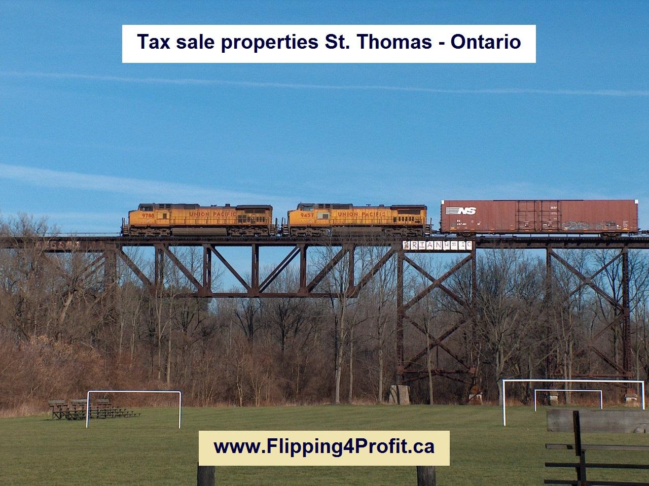 Tax sale properties St. Thomas - Ontario