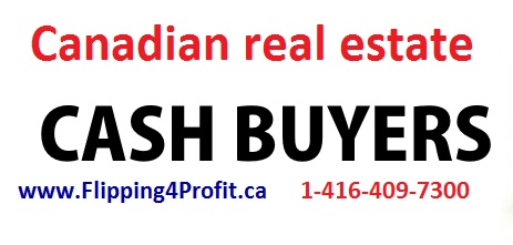 Canadian real estate cash buyers