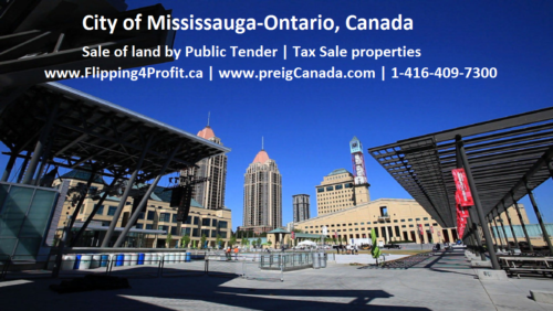 Ontario Tax Sale properties City of Mississauga
