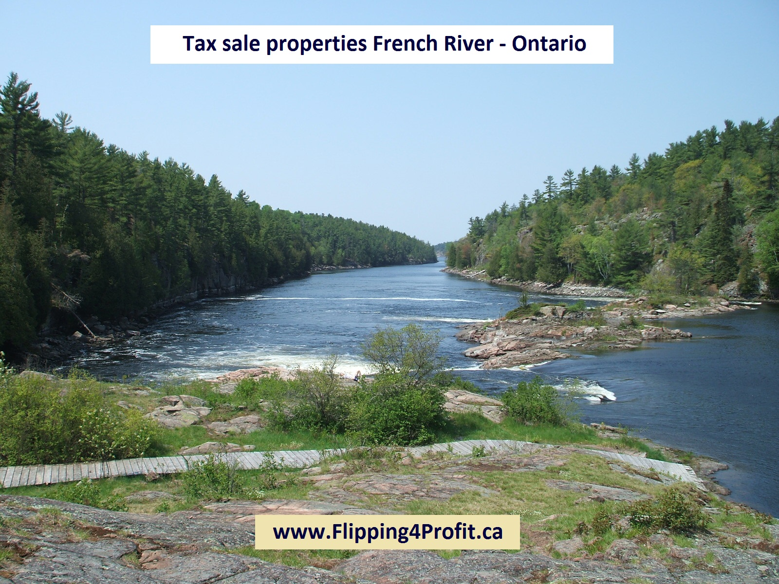 Tax sale properties French River - Ontario