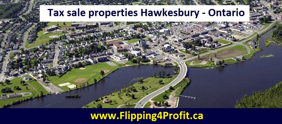 Tax sale properties Hawkesbury - Ontario