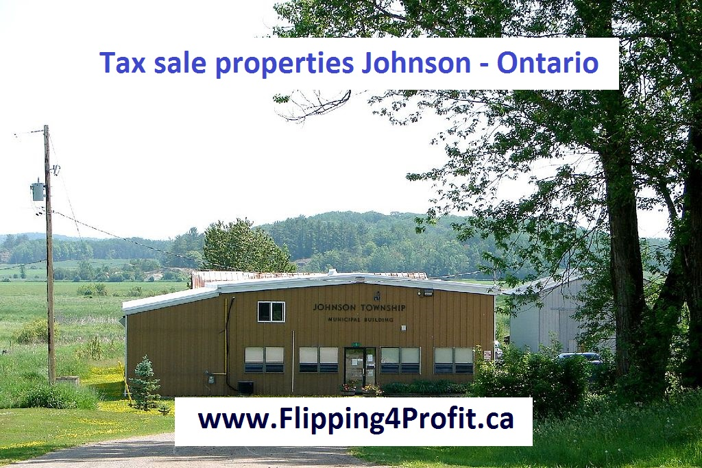 Tax sale properties Johnson - Ontario